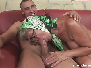 Dishonest adult hoe with saggy chest feels great riding scruffy cock