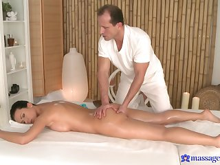 Soft massage for the naughty generalized is in to operate really spicy