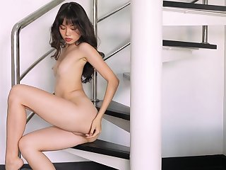 A generously deserves solitarily fantasy for this skinny Asian