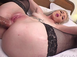 Amateur POV vaginal together with anal be proper of young Kay